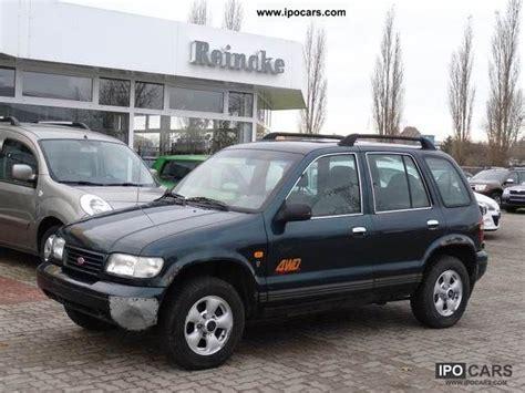 1999 kia sportage mpg 1999 kia special sportage model gascoigne car photo and