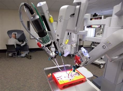 Vs Machine Robots At Japanese Hospital by Fairbanks Memorial Hospital Gets Robotic Surgery Unit