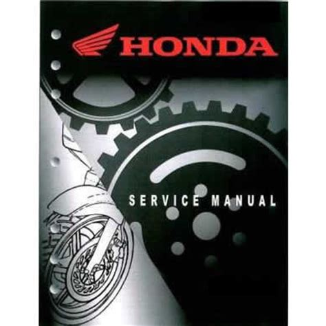honda service manual crfs only your source for honda