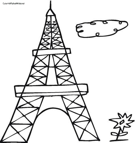 free coloring page eiffel tower eiffel tower coloring pages free coloring pages of the
