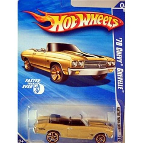 Hotwheels 70 Chevy Chevelle Faster Than Fte wheels 1970 chevelle ss convertible with faster than