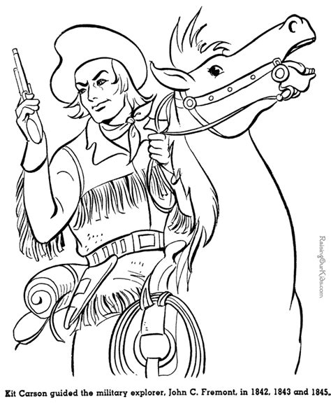 Wild West Coloring Page Coloring Home West Coloring Pages