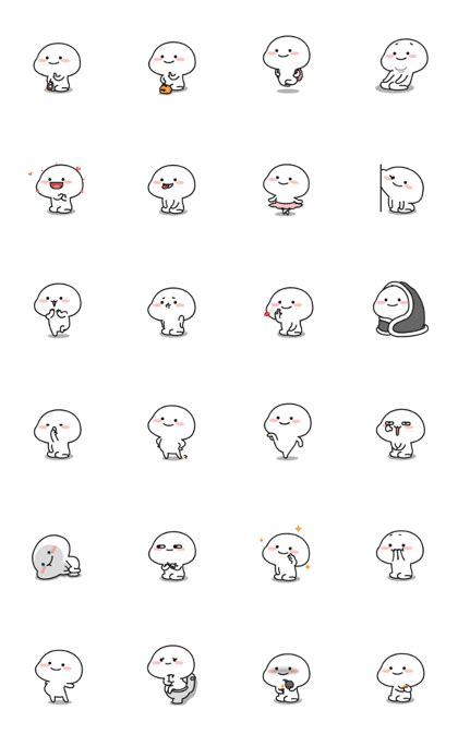 stickers quby sticker starmoly chaonengsmile