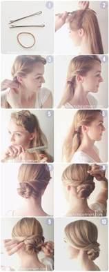 easy hairdo everyday hairstyles tutorial easy low chignon bun popular haircuts