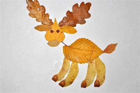 leaf craft for 15 cool applique ideas from autumn leaves kidsomania
