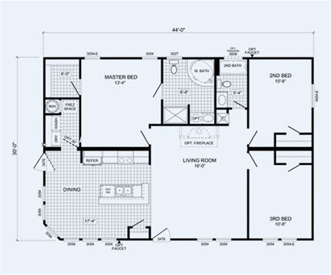 cavalier mobile home floor plans cavalier manufactured