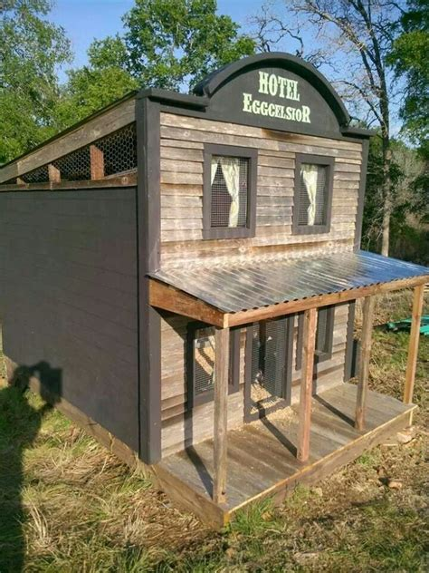 another cool chicken coop the animals pinterest
