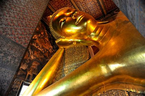 Reclining Budda by Thing Called Reclining Buddha At Wat Pho