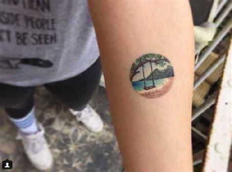 eva peque 241 os tatuajes en miniatura circular tatuaje club