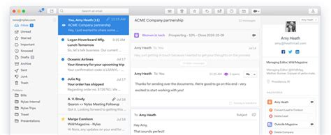 best email client mac the best macos email clients apple gazette