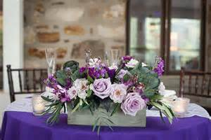 Wedding Centerpiece Branches by Manor House At Prophecy Creek Purple Wedding Flowers