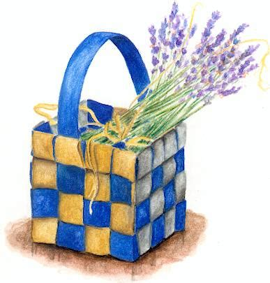 How To Make A Paper Weave Basket - paper woven basket