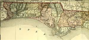 road map of florida panhandle map of the florida panhandle 1800s iii