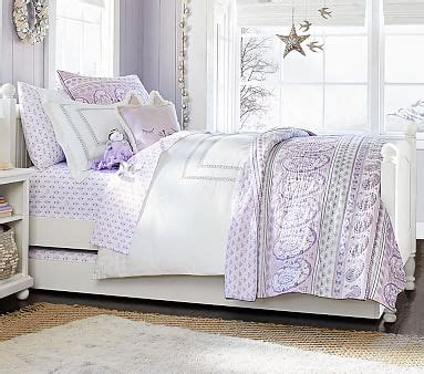 Keira Paisley Quilted Bedding Pottery Barn Kids Pottery Barn Keira Rug