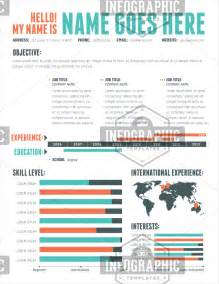 Resume Infographic by Infographic Resume Template Clean Amp Professional