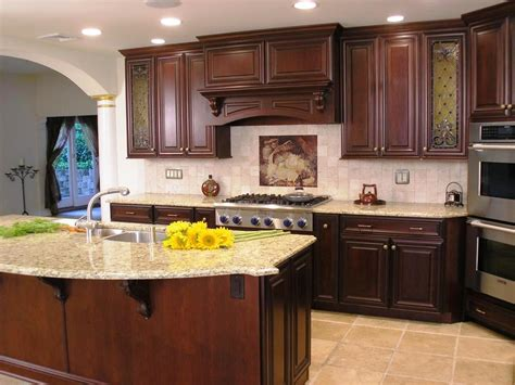 Lowes Kitchens Cabinets Cherry Cabinet Kitchen Design Kitchen Cabinets Cherry Kitchen Interior Design Kitchen Cabinets