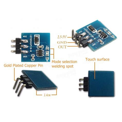 l touch switch module ttp223b digitale touch sensor capacitive touch switch
