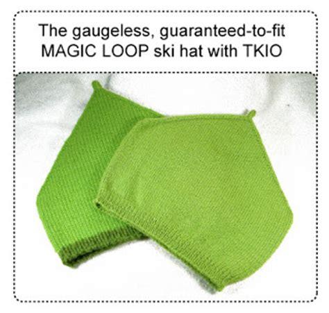hat pattern magic loop techknitting techpattern and tutorial gaugeless magic