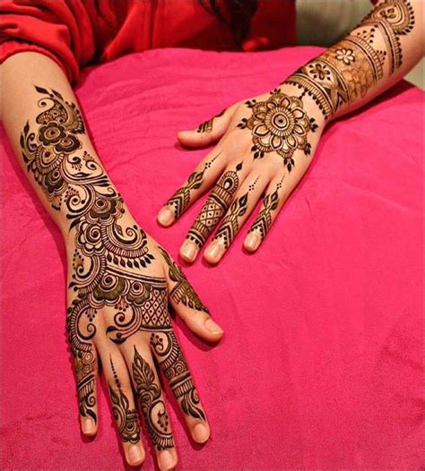 15 pretty pakistani arabic mehndi designs for you