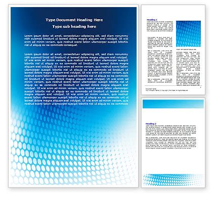 background templates for word blue grid background word template 06973 poweredtemplate com
