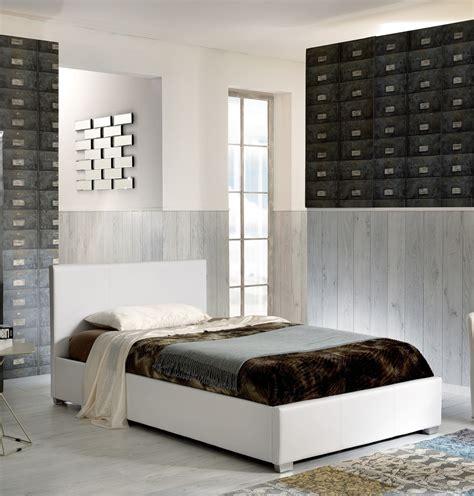 letto contenitore una piazza letto contenitore una piazza e mezza in ecopelle e rete a