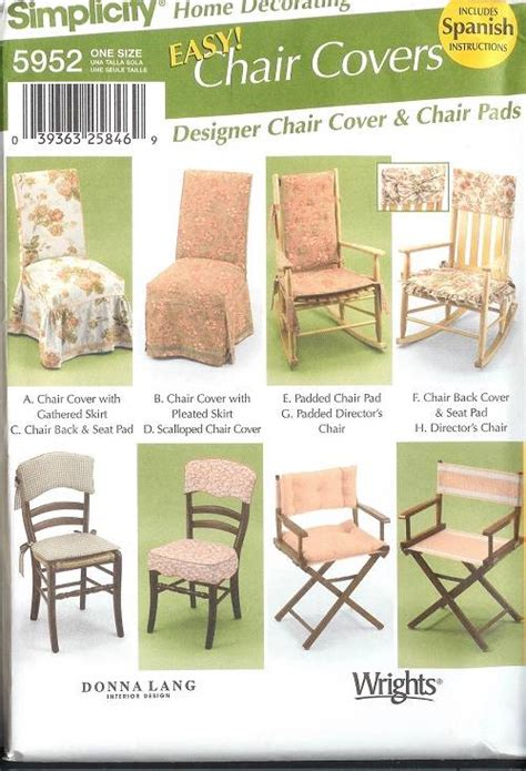 home decor sewing patterns 28 images simplicity slip covers chair sofa ottoman home decor simplicity slip covers chair sofa ottoman home decor