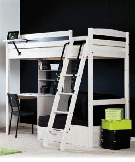Stora Ikea by White Stora Loft Bed From Ikea Spare Room