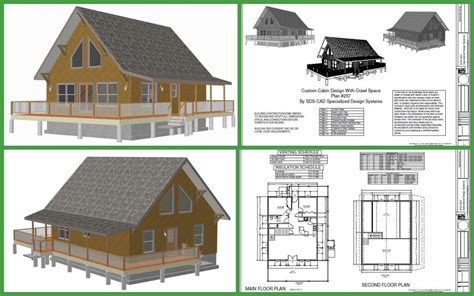 Cabin Plans Under 1000 Sq Ft cabin plans and designs