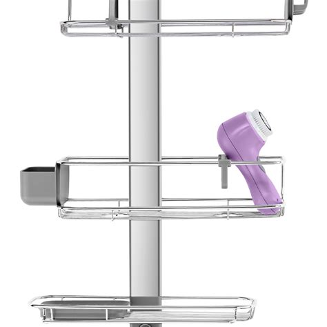 Adjustable Shower Caddy by Buy Simplehuman Adjustable Shower Caddy Plus Amara