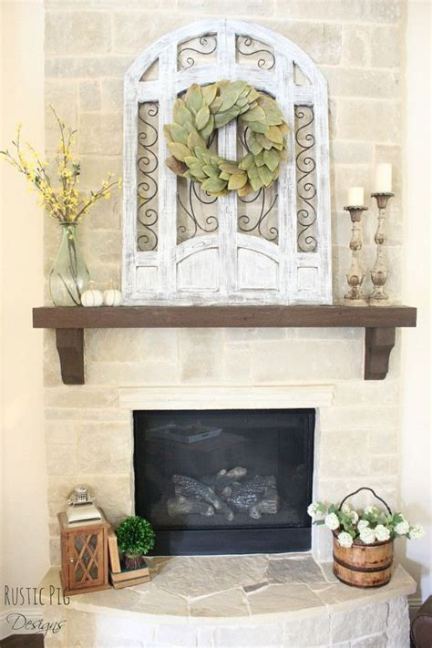 farmhouse fireplace mantel 25 best rustic mantle decor ideas on fall