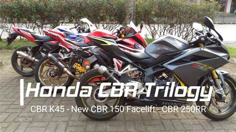 Knalpot Racing 3 Suara honda cbr trilogy knalpot hybrid 3 suara tridente f 19 thunderhawk by 3tech racing evolution