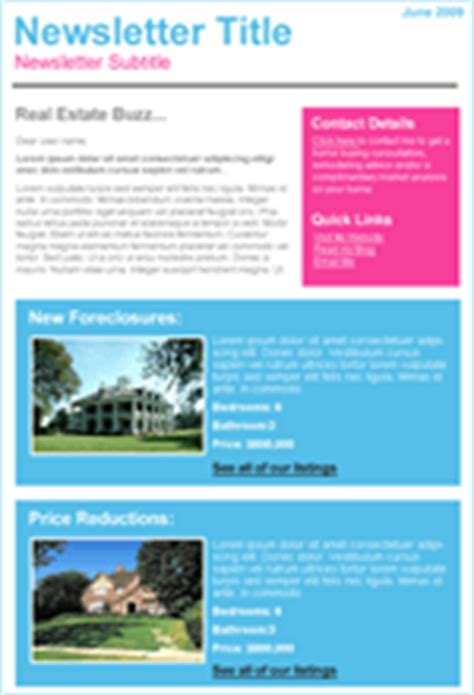 Real Estate Email Templates Benchmark Real Estate Email Newsletter Templates