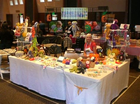 table displays the craft booth events daily whispers