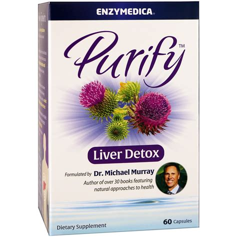 Enzymedica Purify Liver Detox by Enzymedica Purify Liver Detox 60 Capsules Iherb