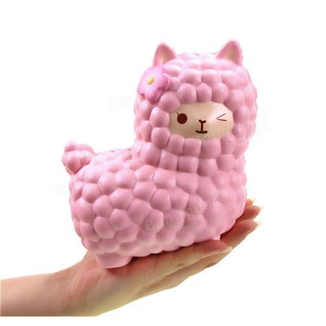 Squishy Murah Pink Biru Jumbo Rising vlo toysweety squishy jumbo alpaca 17cm rising original packaging collection gift decor