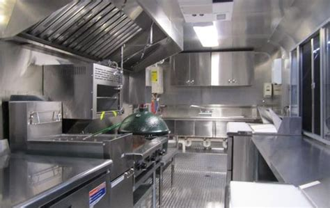Food Truck Kitchen Design Food Truck Design Inside Www Pixshark Images