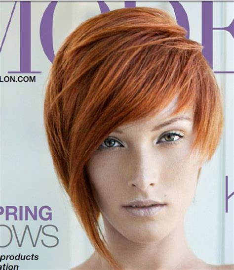 chop hairstyle for longer version short hairstyles for women red hair hairstyle ideas