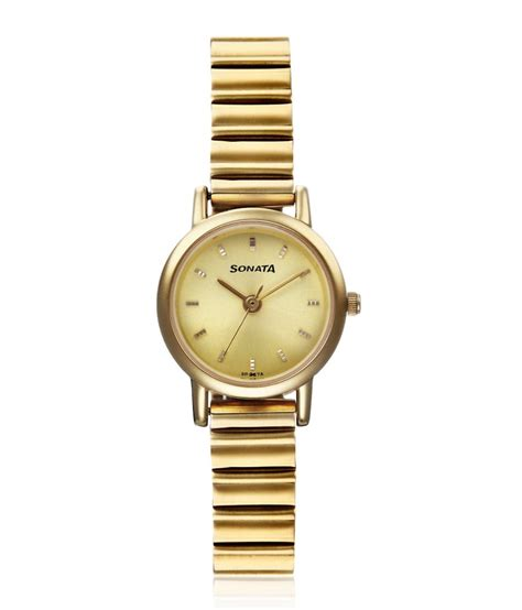 sonata gold plated for price in india buy