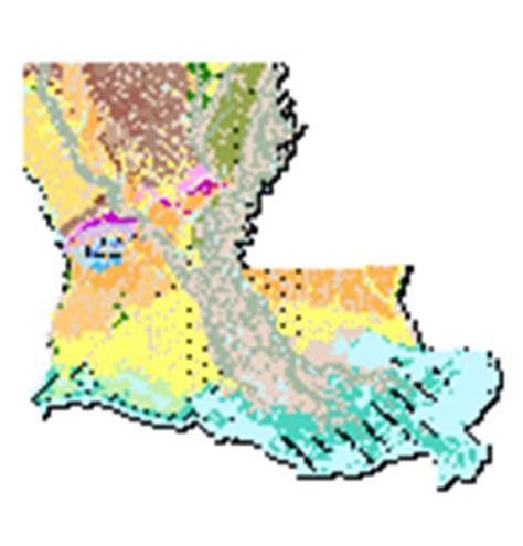 louisiana geologic map louisiana geology 1 500k