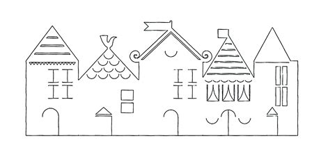 Printable Paper House Template by Best Photos Of Paper Houses Templates