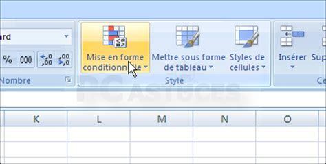 excel 2007 format mise en forme conditionnelle pc astuces afficher automatiquement les nombres ngatifs