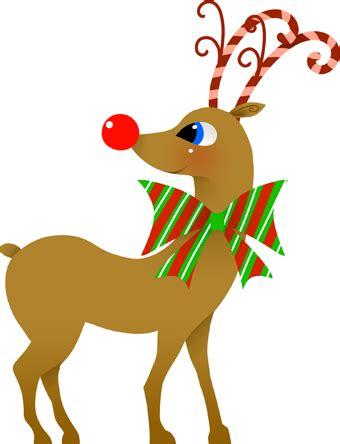 clipart reindeer christmas clip art