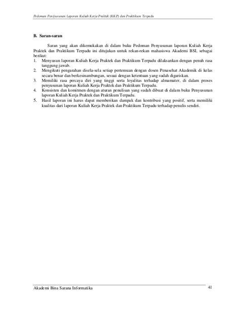 aturan membuat laporan praktikum panduan laporan kkp dan praktikum terpadu
