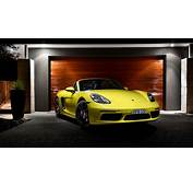 Wallpaper Porsche 718 Boxster 2017 Cars 4K Automotive