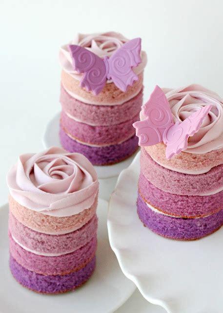 pink ombre swirl cake glorious treats purple ombre mini cakes glorious treats