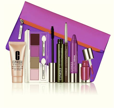 Make Up Kit Xi Xiu clinique gift with purchase makeup style by