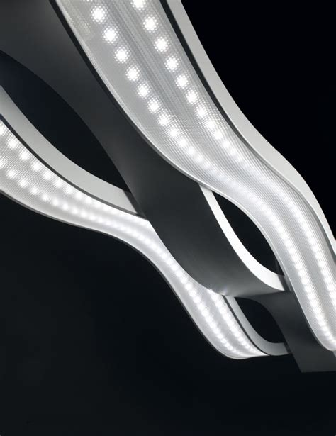 led da soffitto plafoniera swing 3 illuminazione design