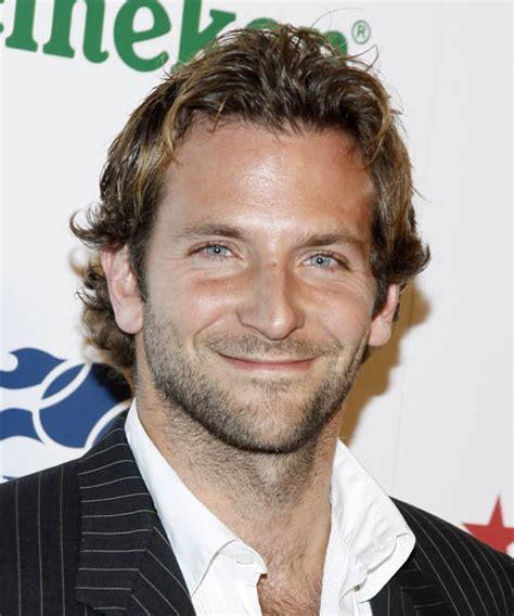 Bradley Cooper Hairstyles by Bradley Cooper Wavy Casual Hairstyle
