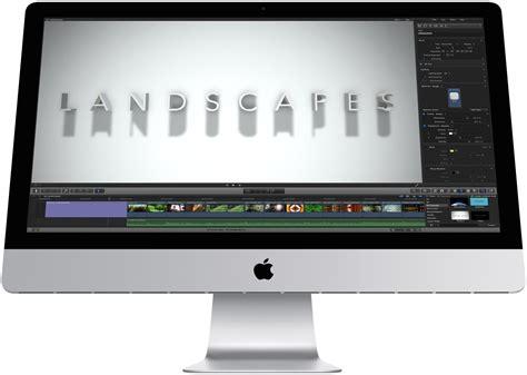 ordinateur de bureau grand ecran mac ou pc