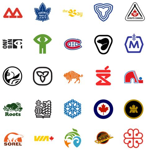 a for all time canada these are the best canadian logos of all time